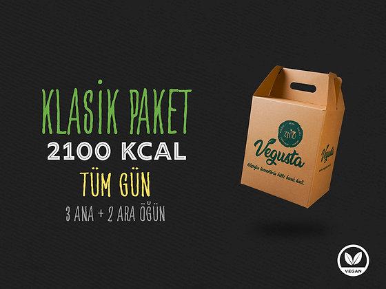 Tek Günlük Klasik Paket 2100 Kcal