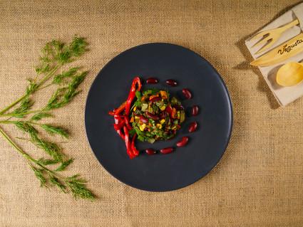 Zeytinyağlı Barbunya Salatası