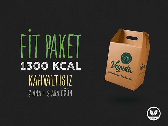 Kahvaltısız Fit Paket 1300 Kcal