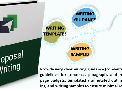 Proposal Writing 101 Training - #7 Proposal Management Process Improvement Lesson Learned