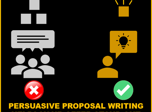 Commodity Distancing: Persuasive Proposal Writing for Authoritative Credibility and Quantified Value