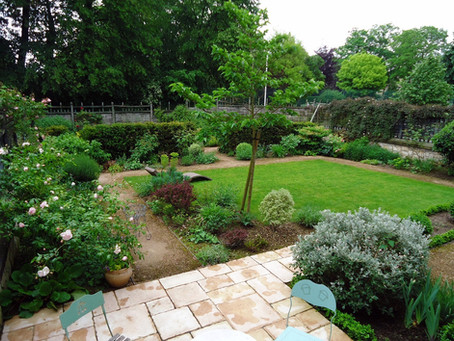 Re-création d'un petit jardin de ville