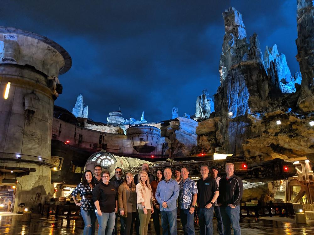AOA Star Wars: Galaxy's Edge Project Team