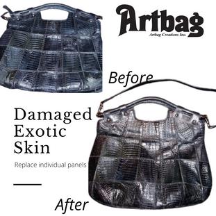Damaged Exotic Skin
