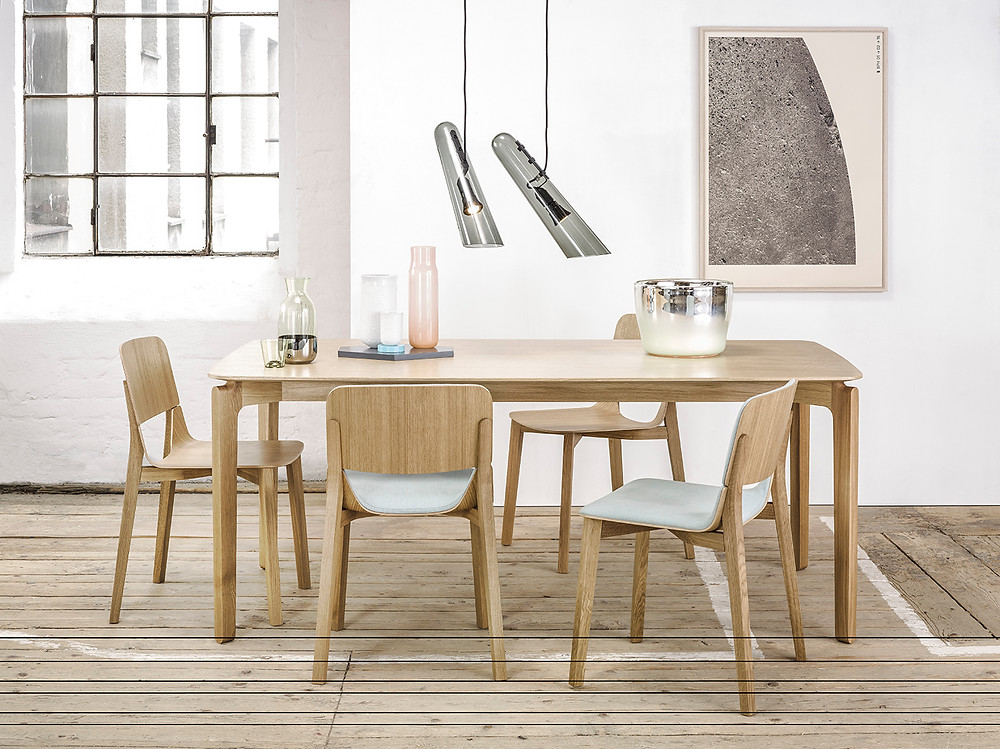 TON | LEAF CHAIR & LEAF TABLE | design by E-ggs studio