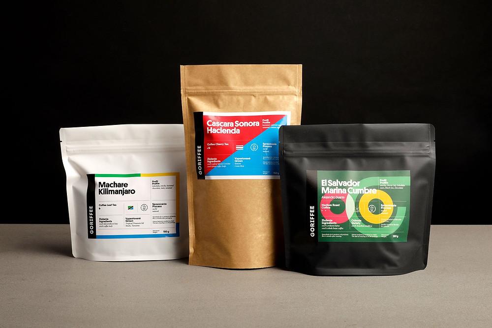MATEJ ŠPÁNIK | visual identity for coffee company GORIFFEE