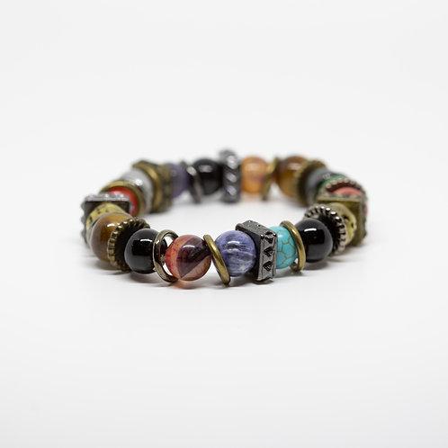 Turquoise, Sodalite, Pyrite, Onyx