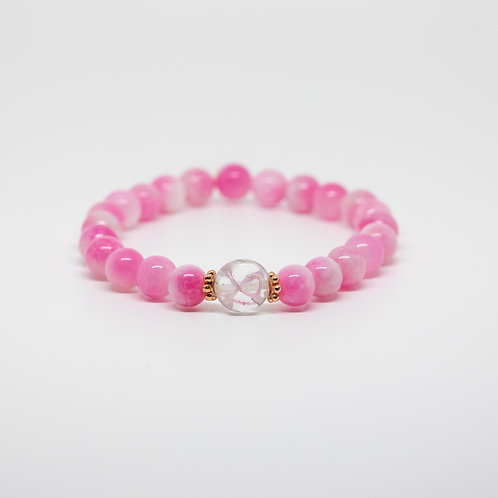 Pink Chalcedony- Breast Cancer Awareness