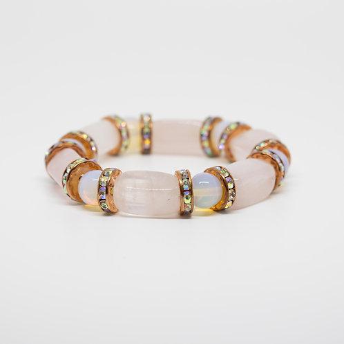 Opal, Rose Quartz