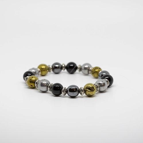 Hematite, Obsidian, Pyrite