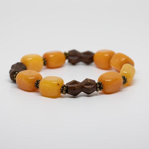 Wood & Orange Quartz