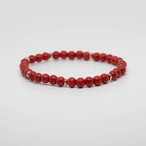Red Howlite