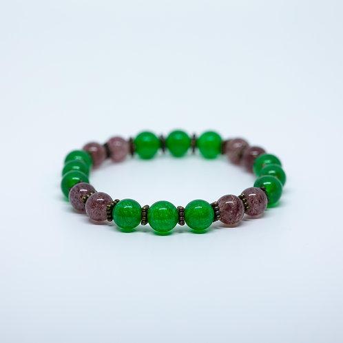 Jade & Lepidolite