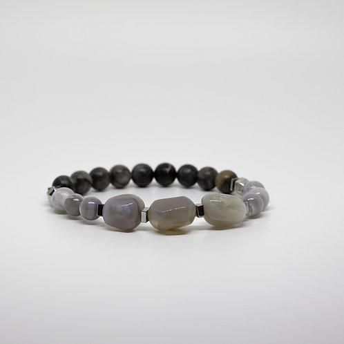 Gray Agate, Stone, Pearl