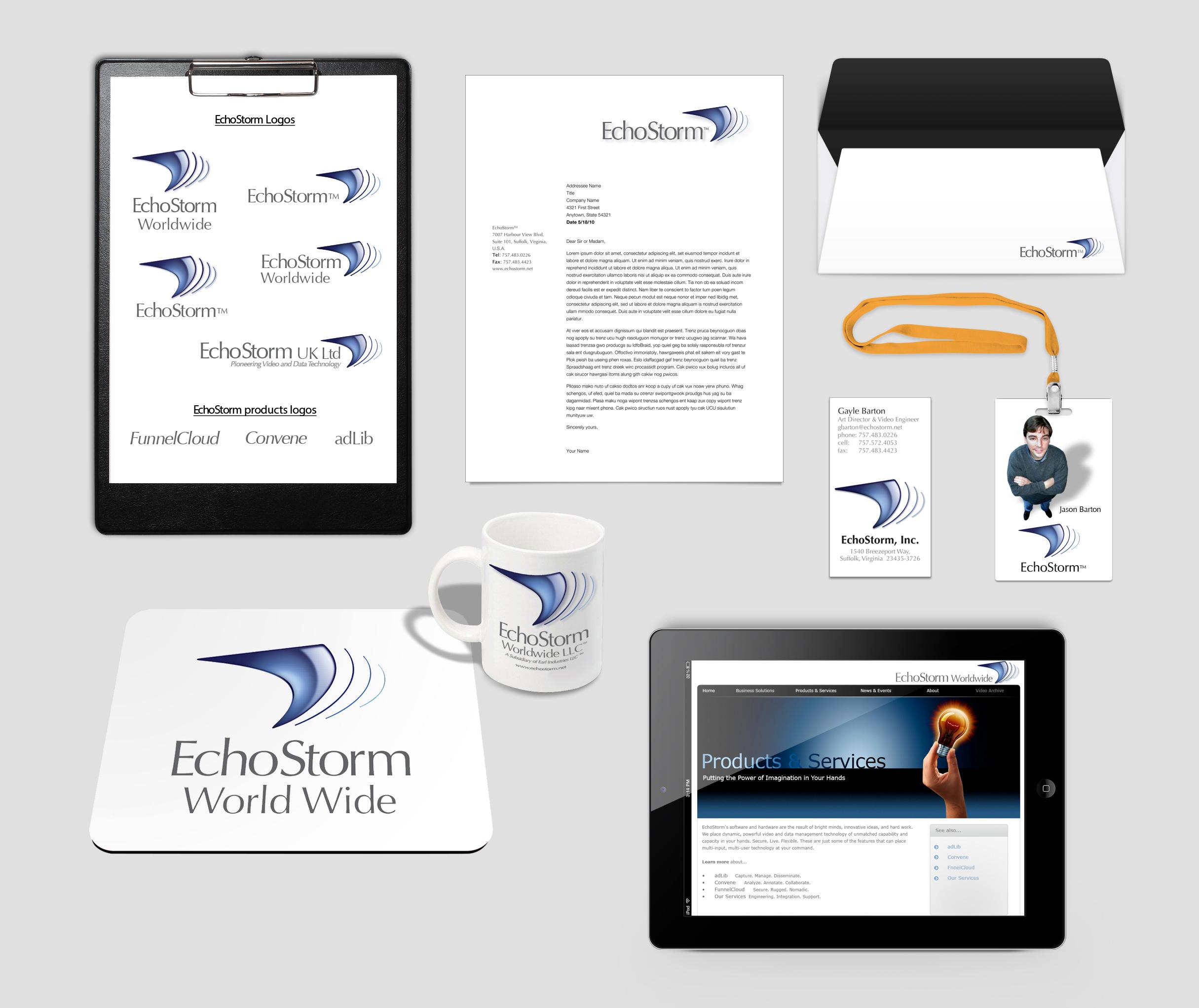 EchoStorm Brand Identity