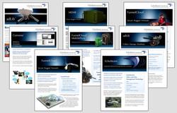 EchoStorm Marketing flyers