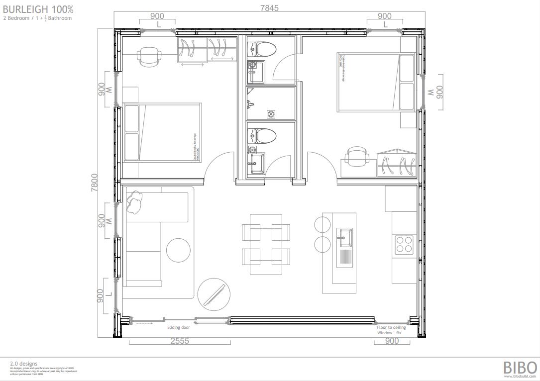 BURLEIGH BIBO 2.0 - 100_ OP E 2  bedroom