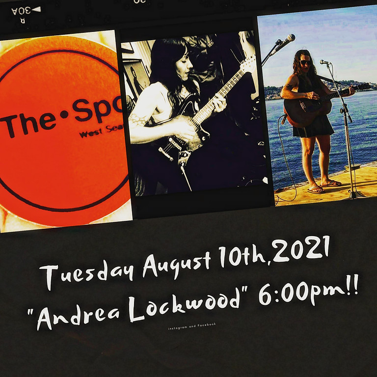 """Patio Sessions """"Andrea Lockwood"""" August 10th, 2021"""