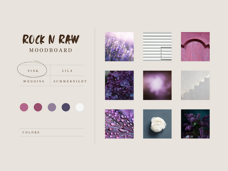 ROCK n RAW Photography  moodboards voor je bruiloft