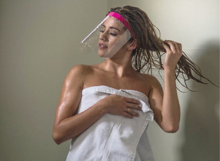 Make Up Shower Shield