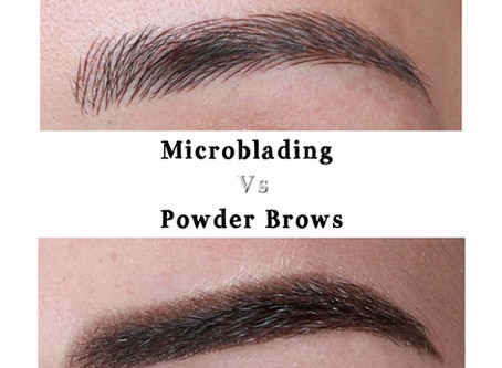 Microblading or Powder Brows?