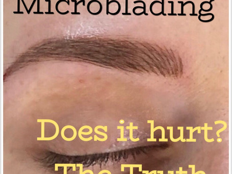 What does Microblading feel like?