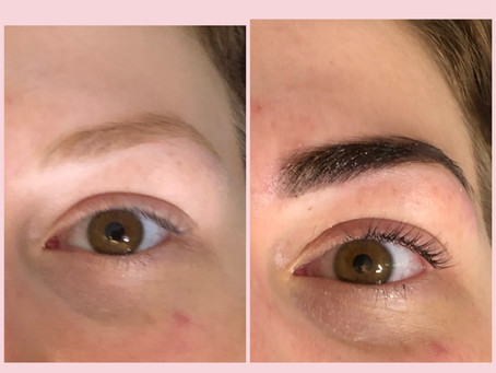 The Beauty Duo.  Henna Brows/ Lash Lift & Tint.