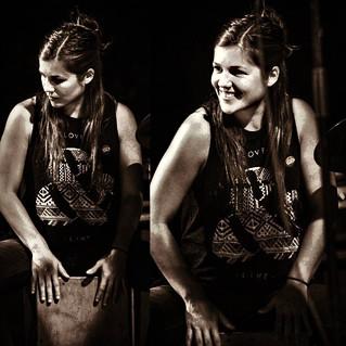 SUSI GAMBOA | Percusión | La Agente de acompañamiento