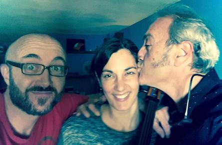 Ángela Rubio, Ferrulo y Fen Tensi, productor de Kind of Studios