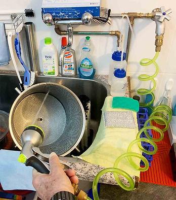 Wasser Reinigungspistole Flaschen.jpg