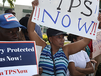 Haitians Receive TPS Extension