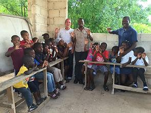 Kid's Club in La Gonave