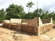 La Gonave guest facilities under construction