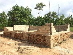 La Gonave guest facilities under construction