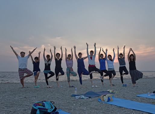 7月のSunset YOGA