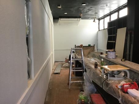 熊本市東区健軍スナック野菊様塗装工事
