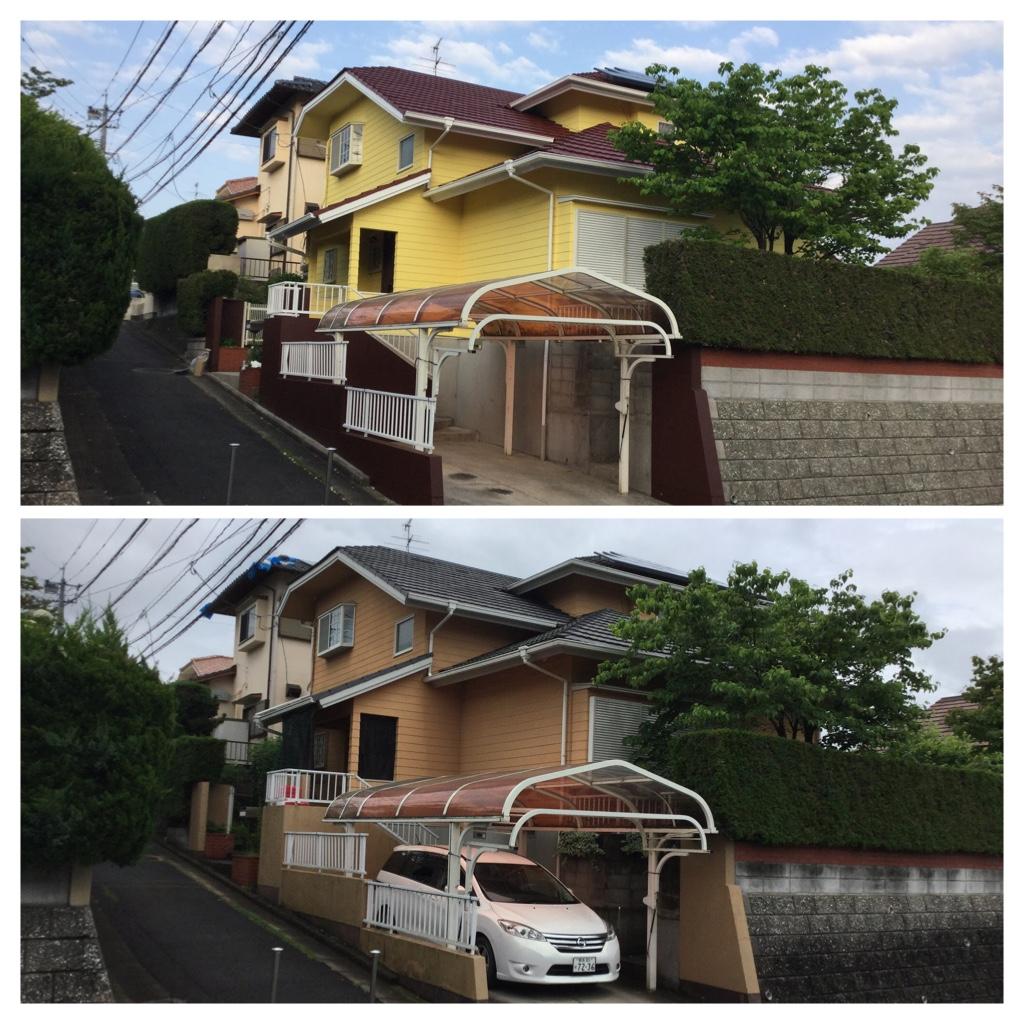 熊本県合志市豊岡 Ⅰ様邸全面塗装工事