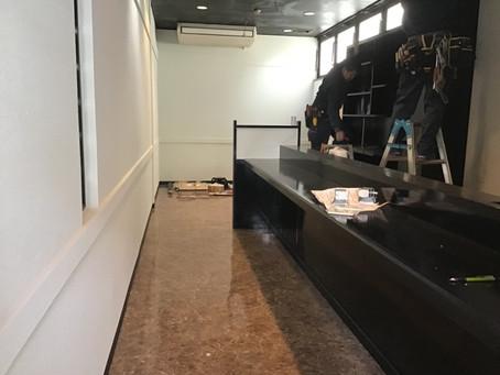 熊本市東区健軍スナック野菊様 内装工事