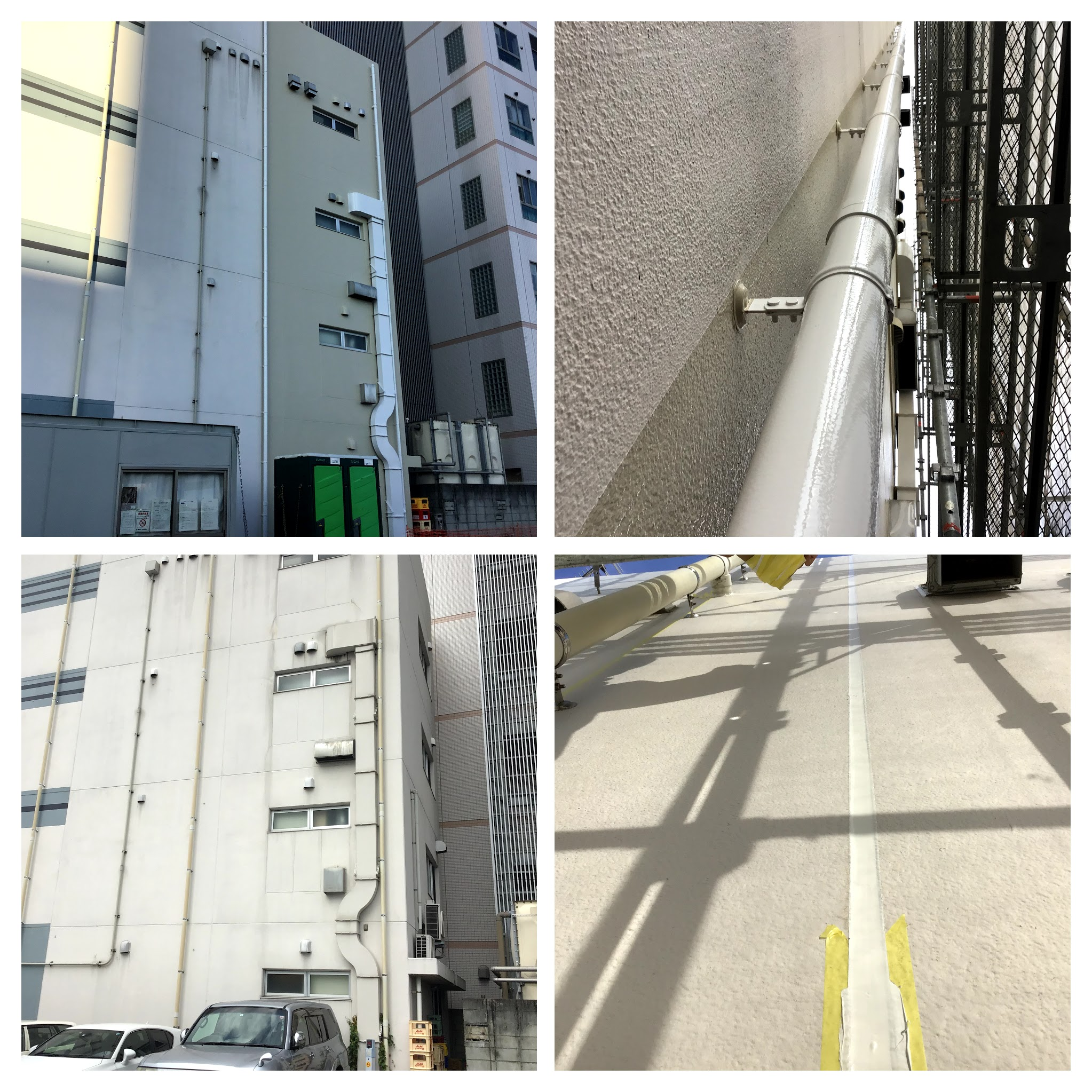 熊本市西区春日T酒店外壁塗装工事