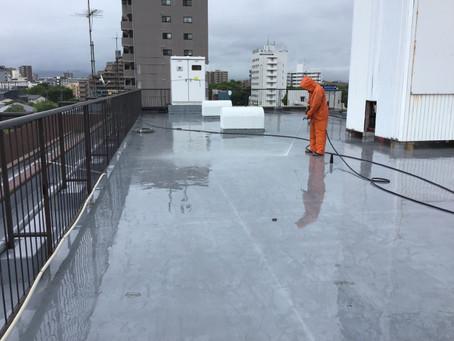 水前寺三和ビル屋上防水工事