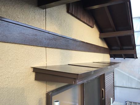 合志市豊岡T様邸 2階部外壁面塗装工事