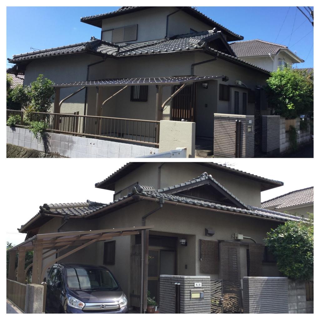 熊本県合志市豊岡 M様邸外壁塗装工事