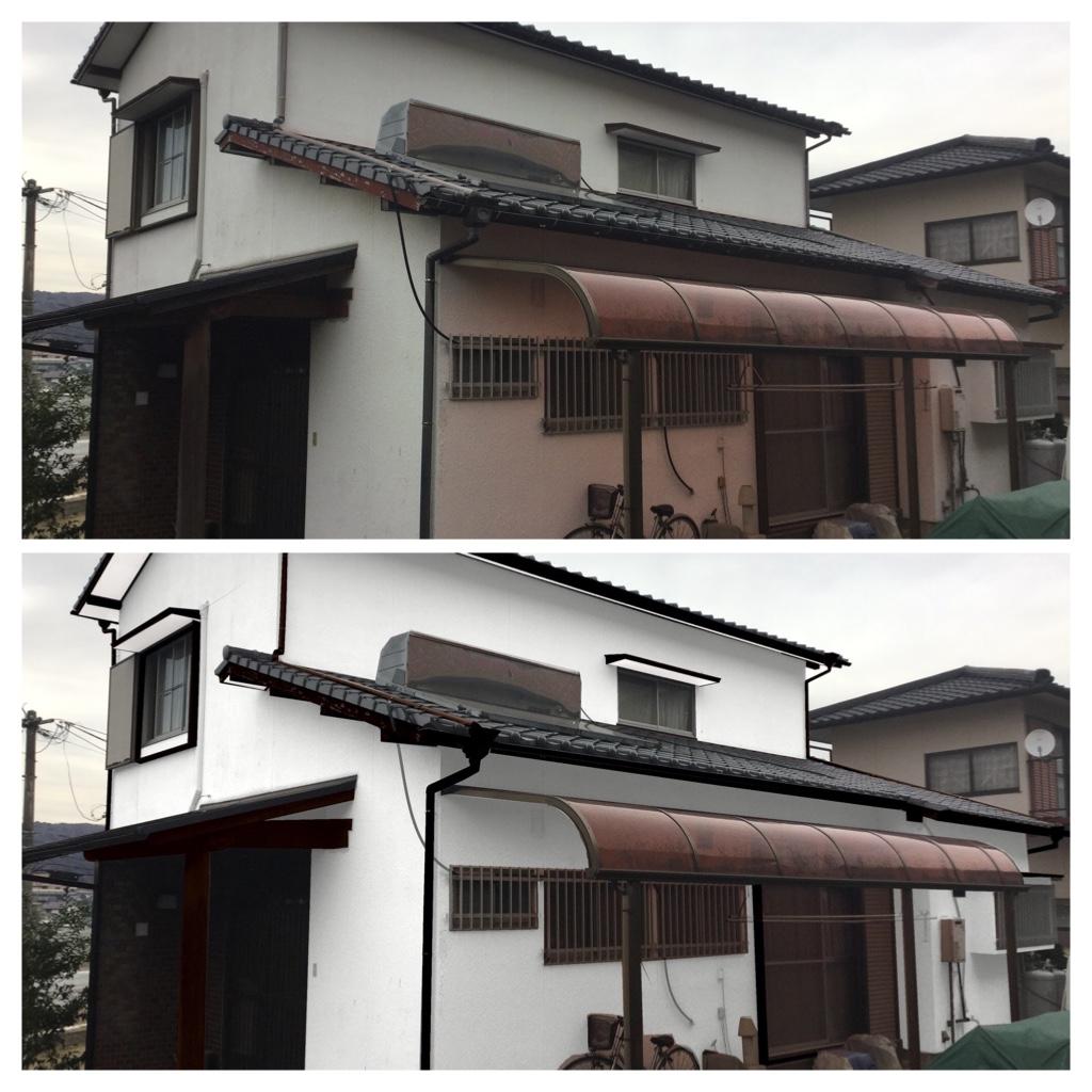 熊本県熊本市中央区大江 A様邸外壁塗装工事