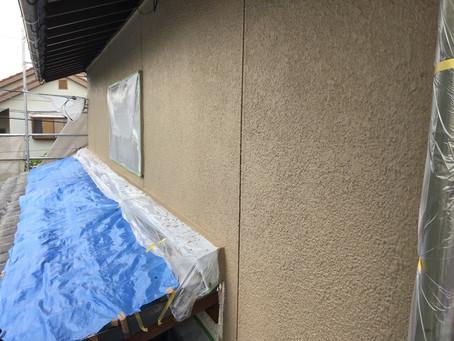 合志市豊岡T様邸2階部外壁面塗装工事