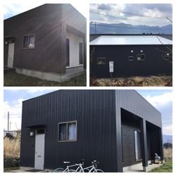 熊本県南阿蘇村中松 K貸家下部棟全面塗装工事