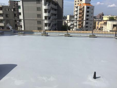 熊本市中央区水前寺公園 Sビル屋上防水工事