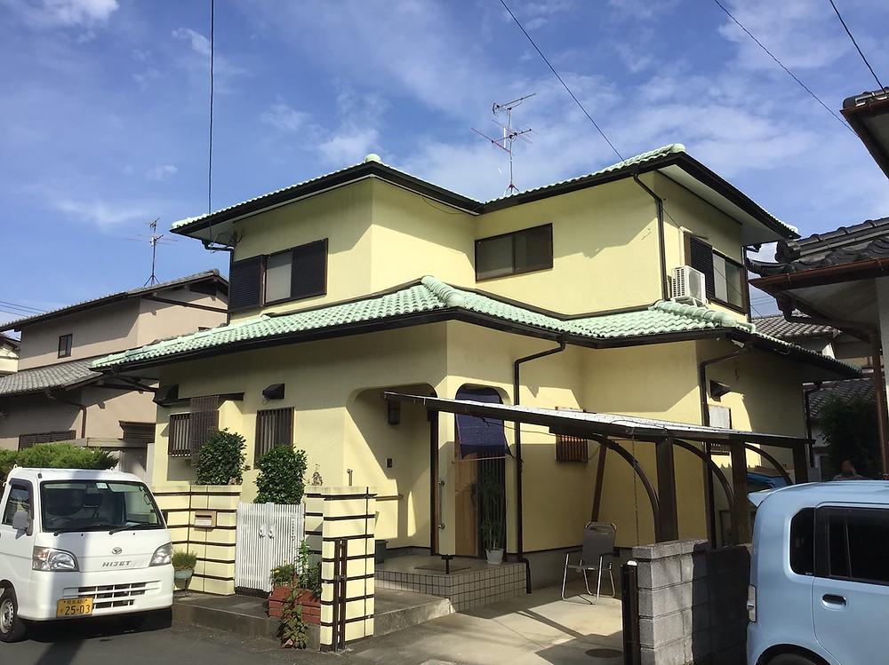 熊本県合志市豊岡Y様邸塗装工事