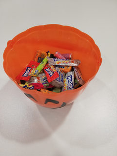 Le plein de bonbons