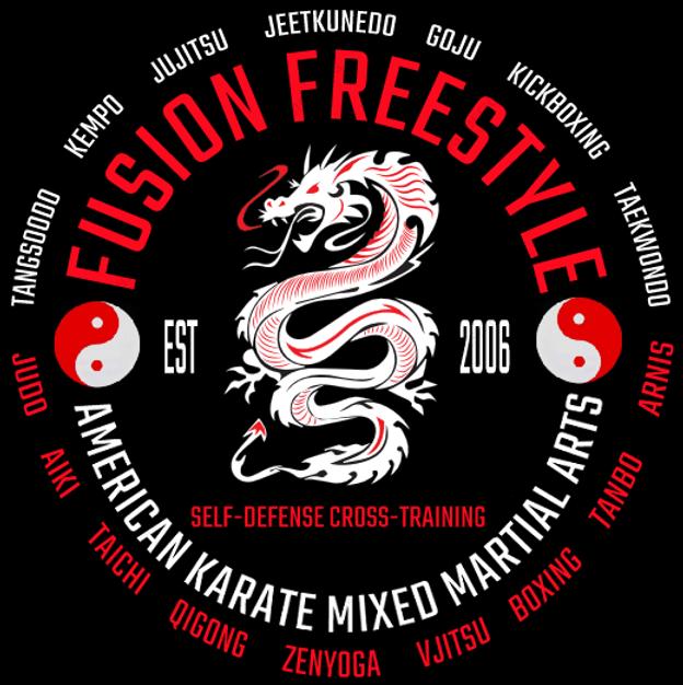 Cobra Kai, Jiu Jitsu, Jujitsu, Kempo, Kenpo, Goju, Kickboxing, Tanbojitsu, Aikijujitsu, FFMMA FUSION FREESTYLE MM