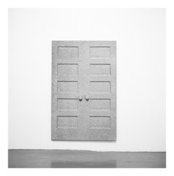 Adjacent Hanging Doors